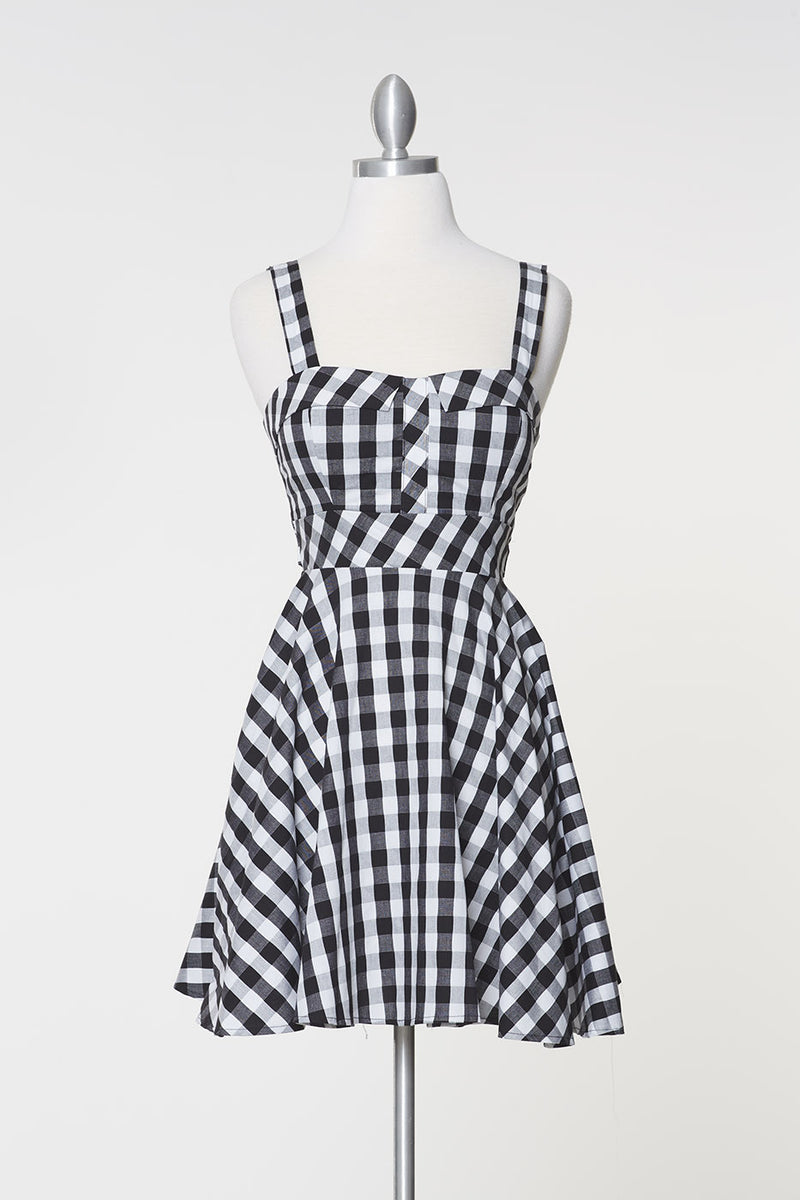 Checkered Marilyn Dress