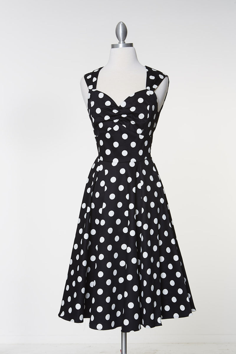 Move Over Claire Dress - Polka Dot