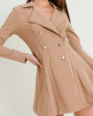 Take on New York Trench Coat Taupe