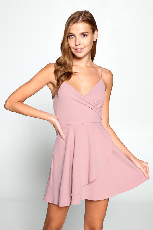 Sweet Pea Pink Dress
