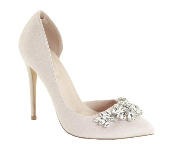 Heavevnly Heels White
