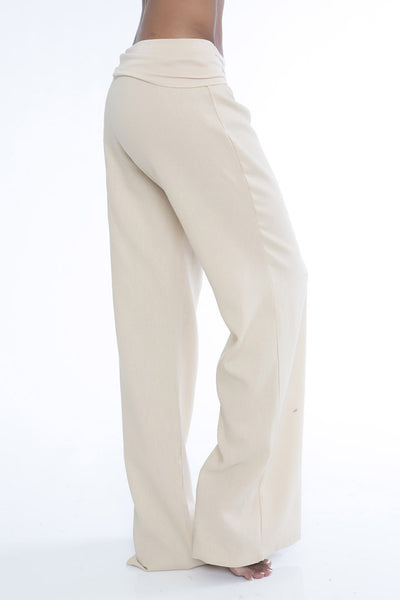 Not Laundry Day Linen Pants - Tan