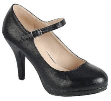 Once Upon A Time High Heels Black