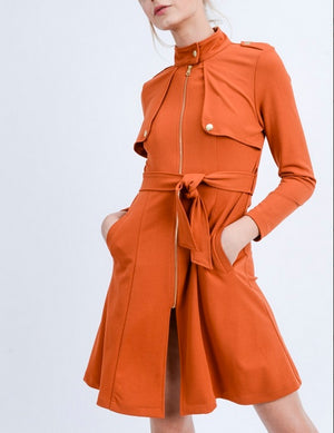 From Dusk Till Dawn Duster Rust