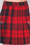 Skater Girl Skirt Red