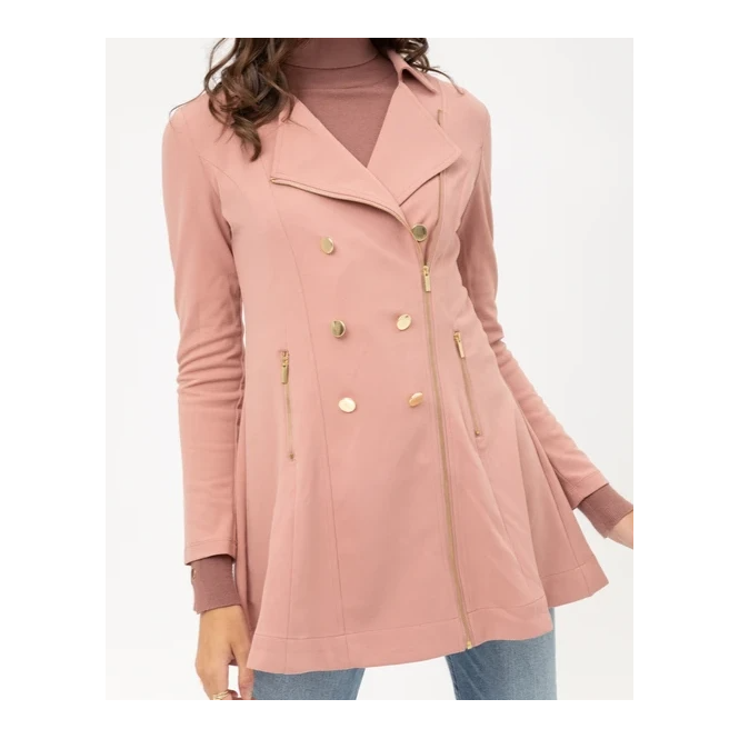 Take on New York Trech Coat Mauve