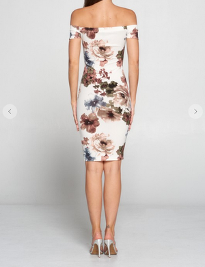 Remember Me Floral Dress