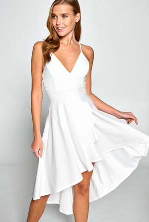 All of My Love White Dress