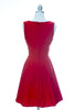 Tea Time Dress - Red