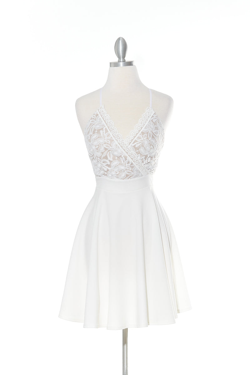 Declaring My Love Ivory Dress