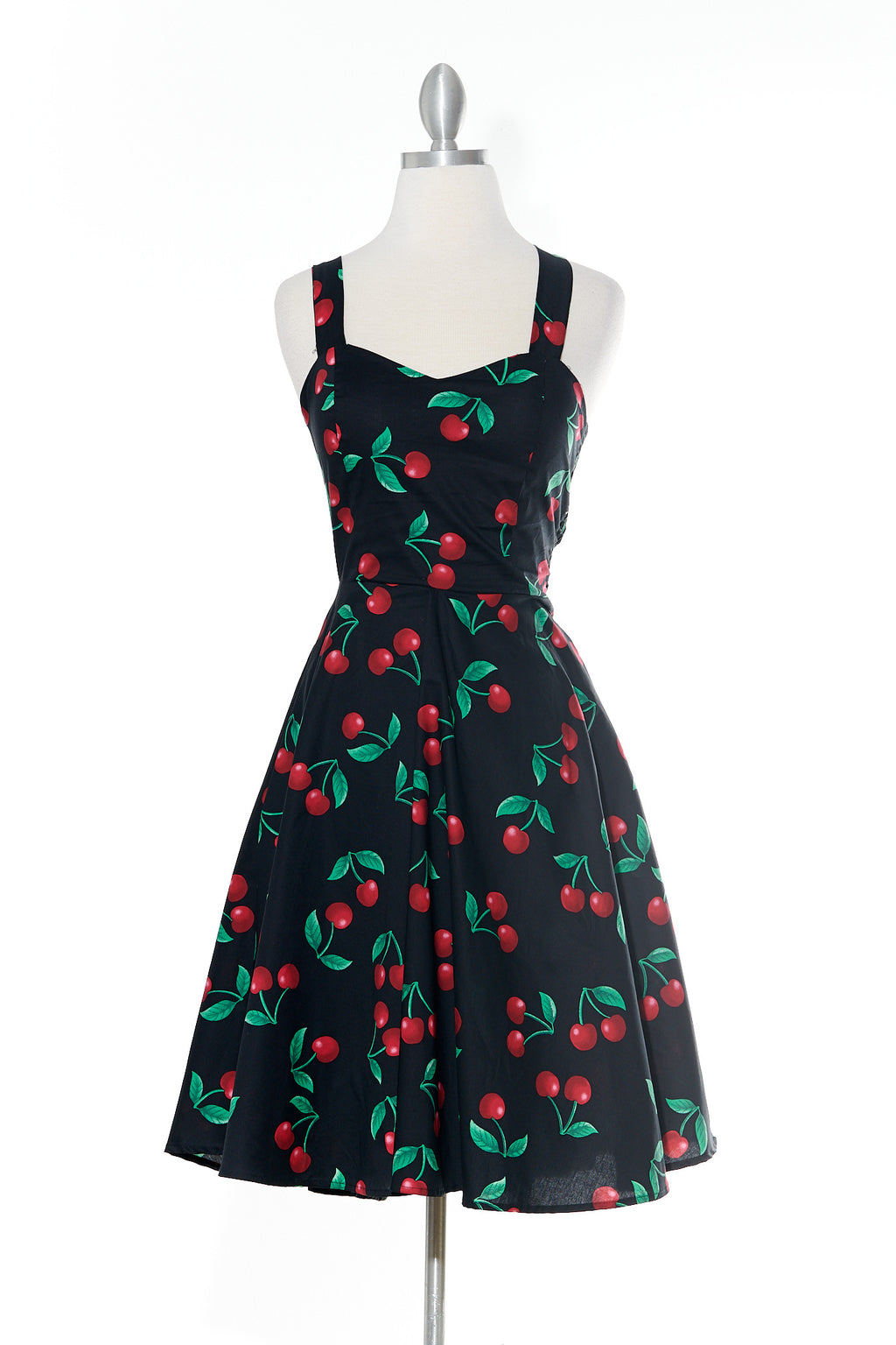 Cherry Pie Black Dress