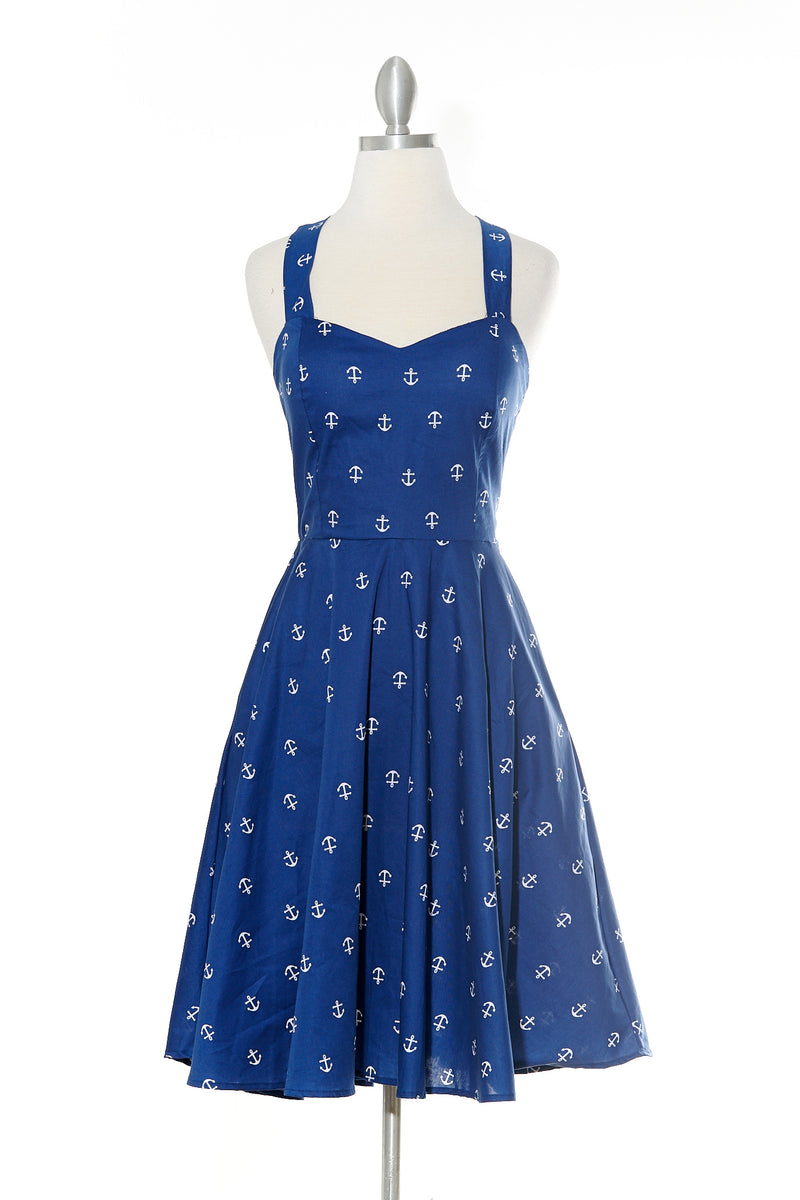 Blue Anchor Lady Dress