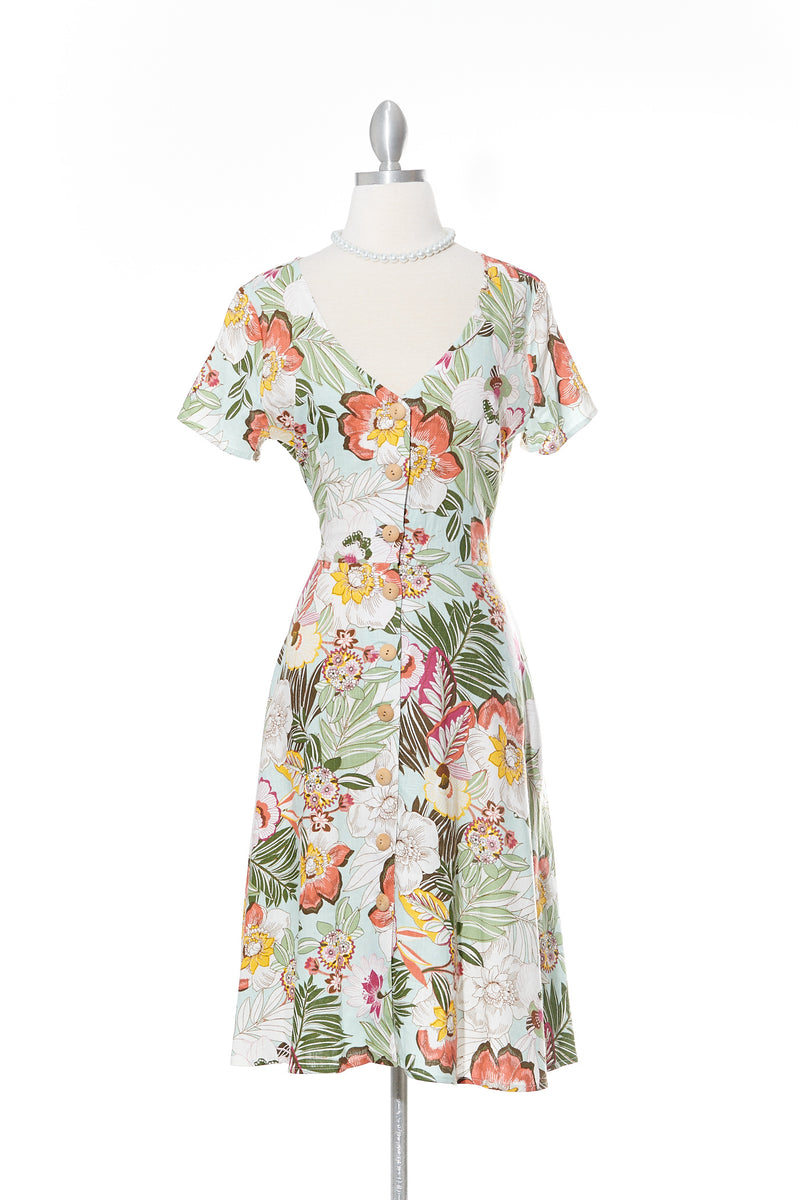 Tropicana Shirt Dress