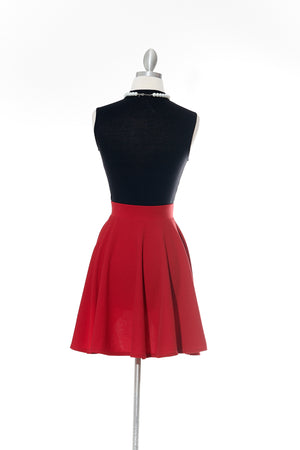 Candy Red Skirt