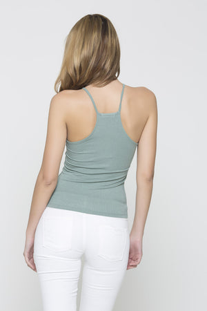 Ribbed Tank - Mint