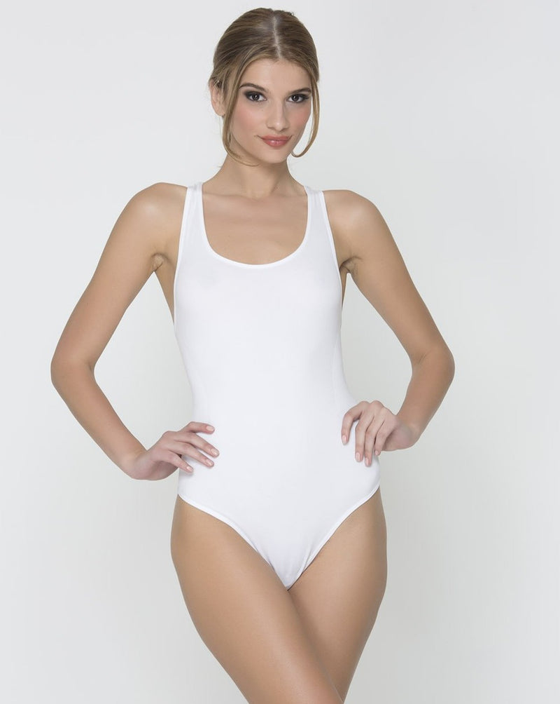 Basic Body Suit - White