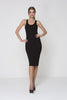 Knot Out Knit Dress - Black