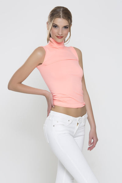 Staple Worthy Top - Coral