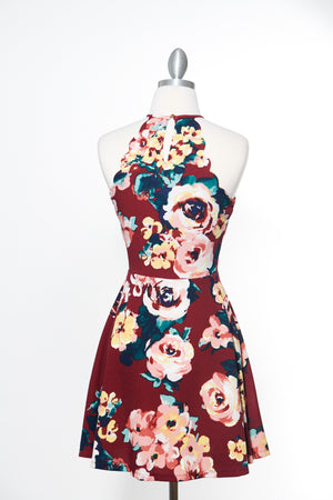 Remeber This Night Floral Dress