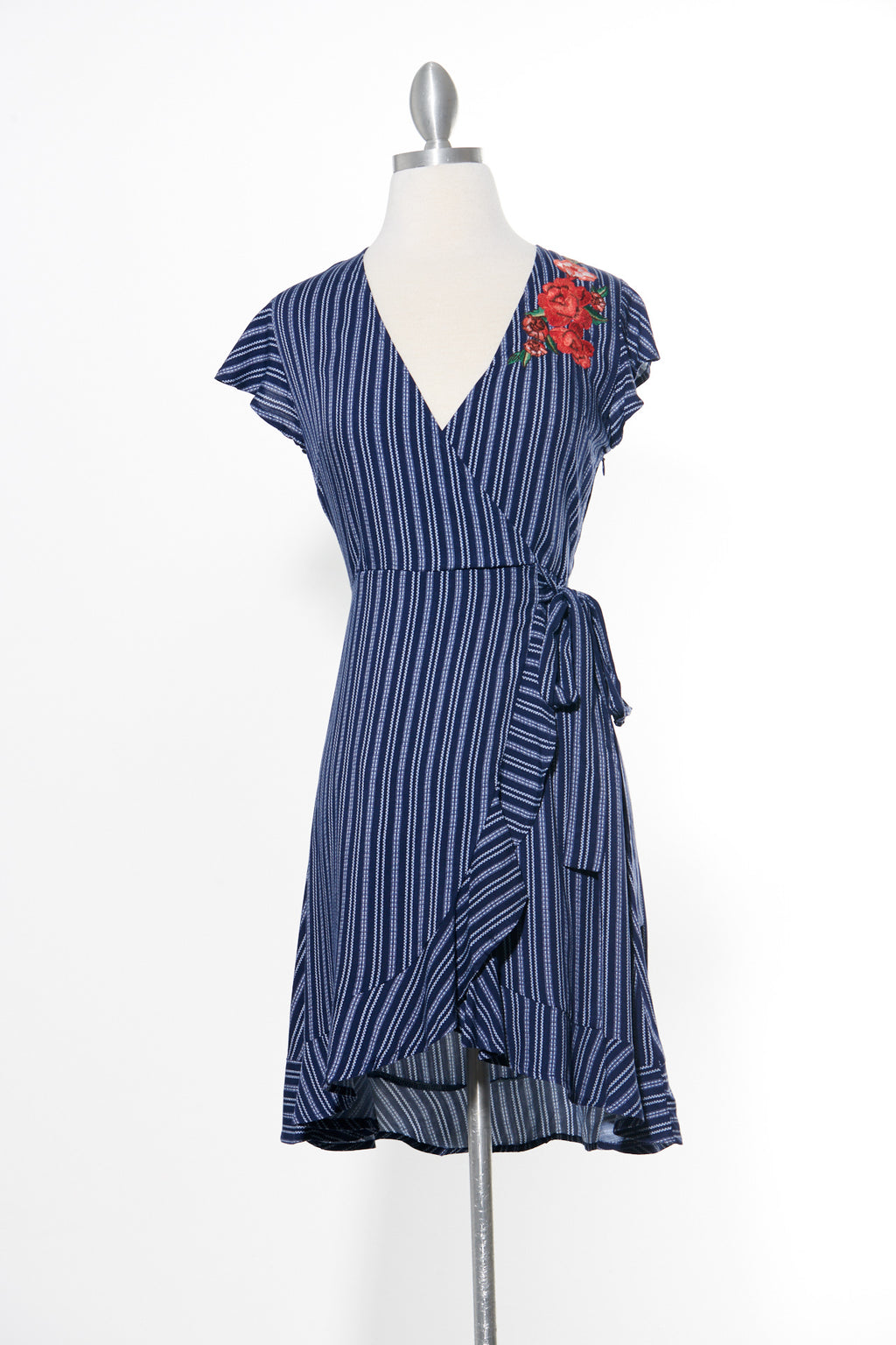 Stripe Dreams Navy Dress