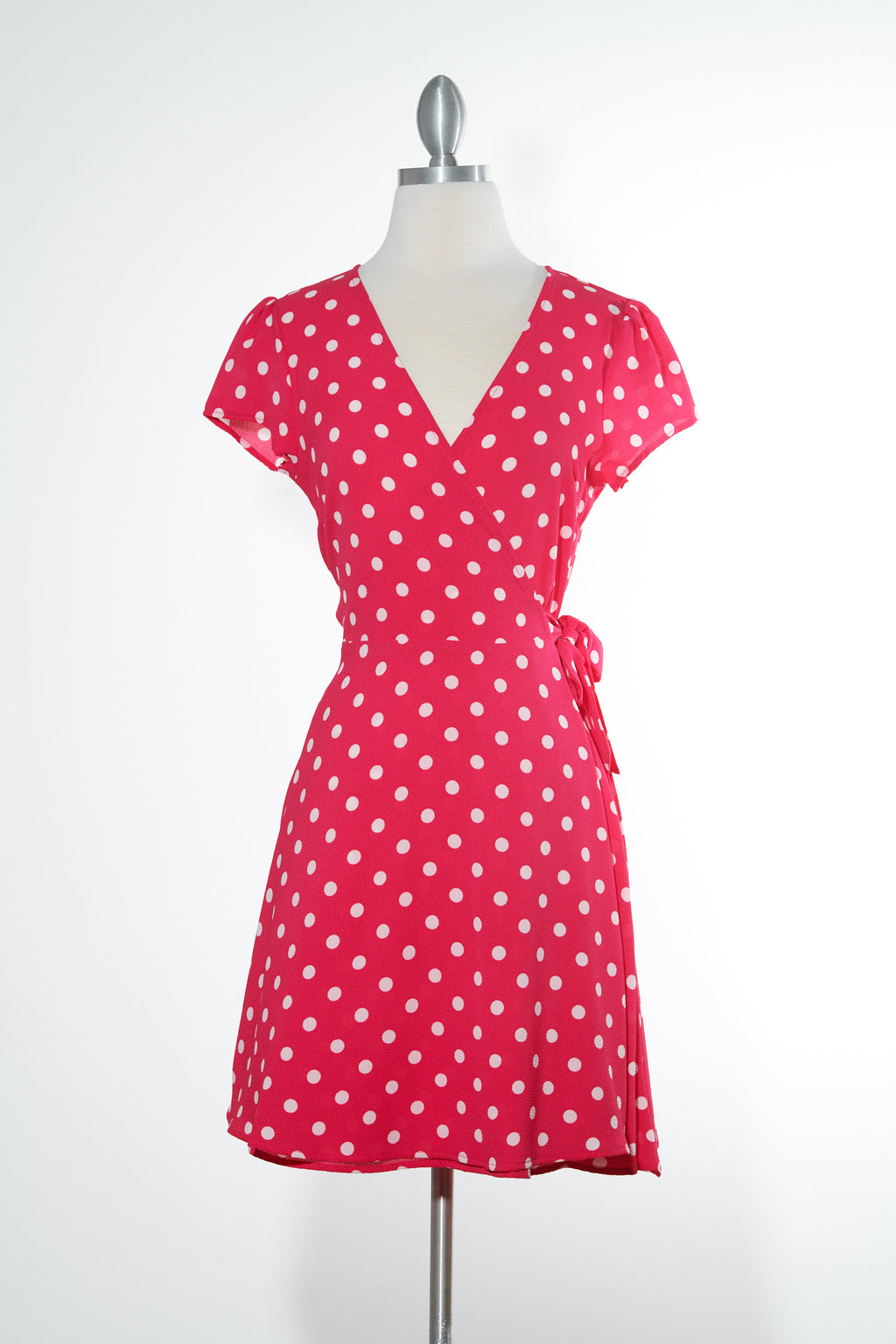 Strawberry Shortcake Wrap Dress