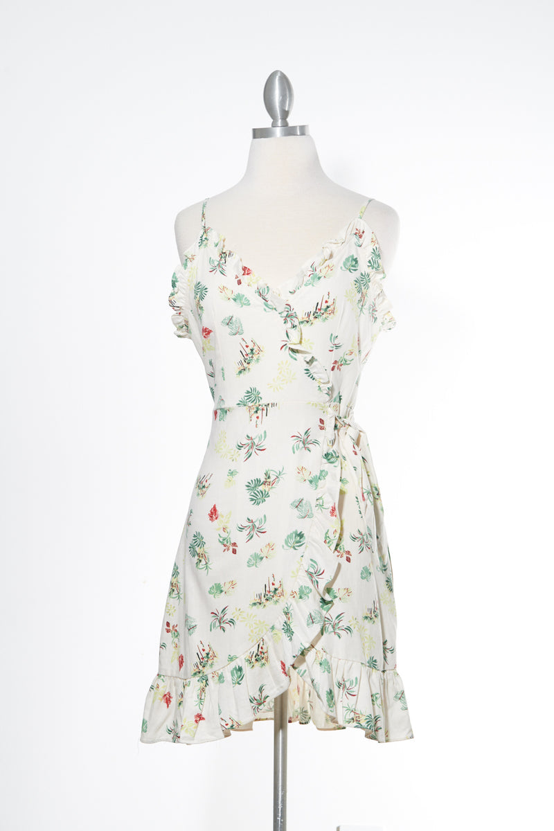 A Little Piece of Paradise Ivory Dress