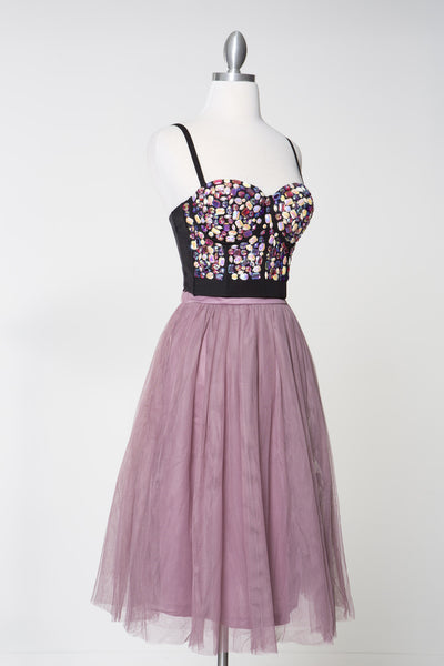Good Times Tulle Skirt - Mauve