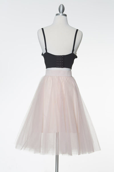 Good Times Tulle Skirt - Pink