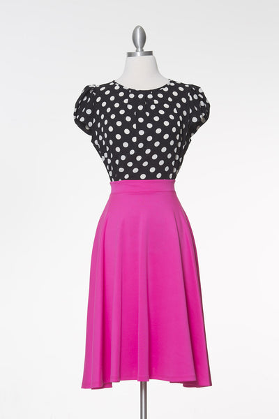 Sway This Way Skirt - Fuchsia