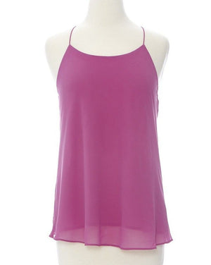 A Night Out String Top - Violet