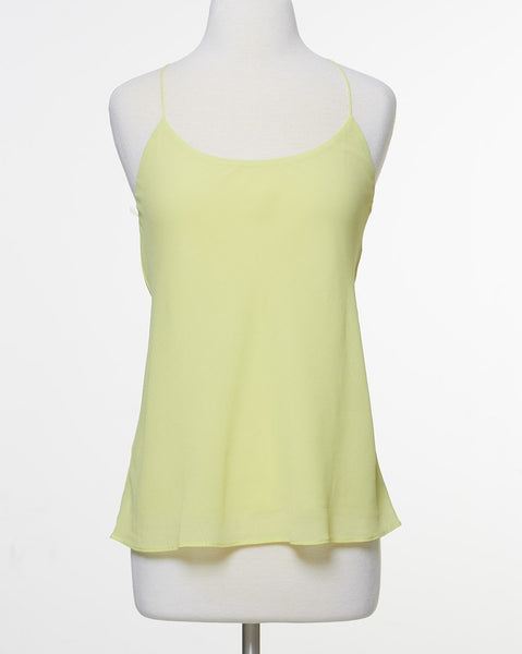 A Night Out Top - Yellow