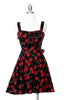 Cherry Bomb Dress - Black