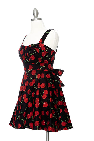 Cherry Pie Dress - Black