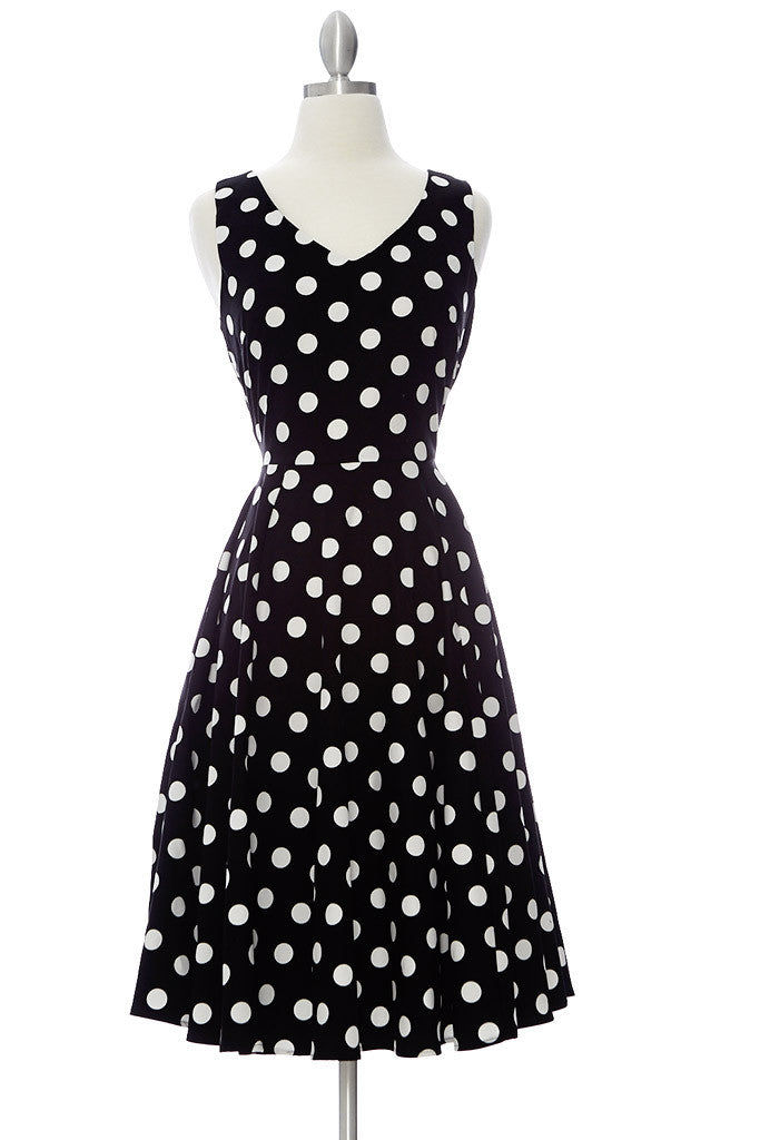 Claire Dress - Polka Dot