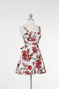 Endless Floral Marilyn Dress - Red