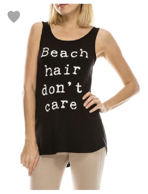 Beach Hair Don't Care Black