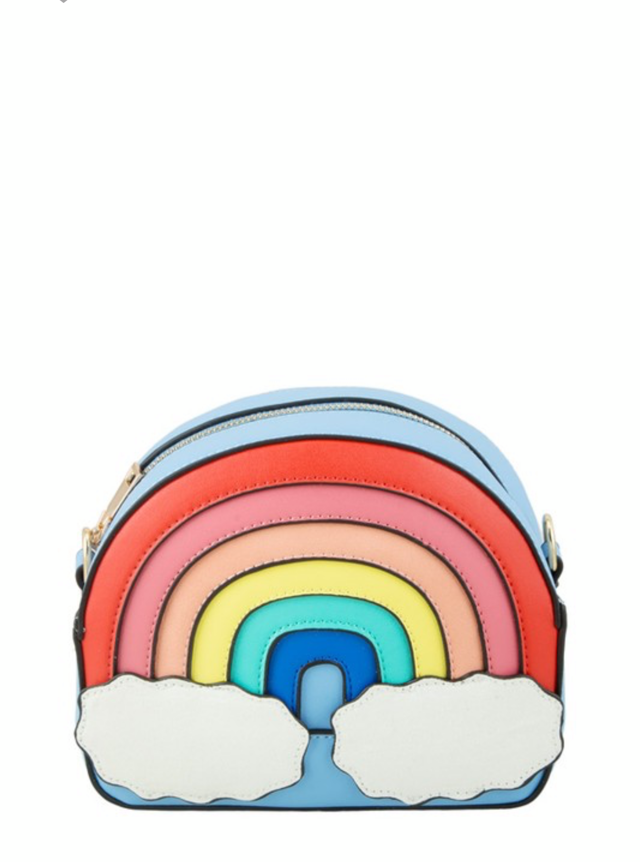 Rainbow Purse Sky Blue