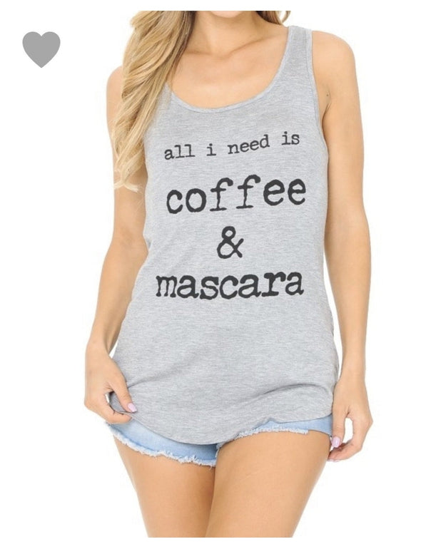 Coffee & Mascara Gray