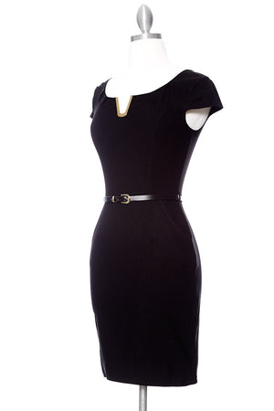 JACKIE O Dress - Black