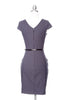 JACKIE O Dress - Charcoal Grey