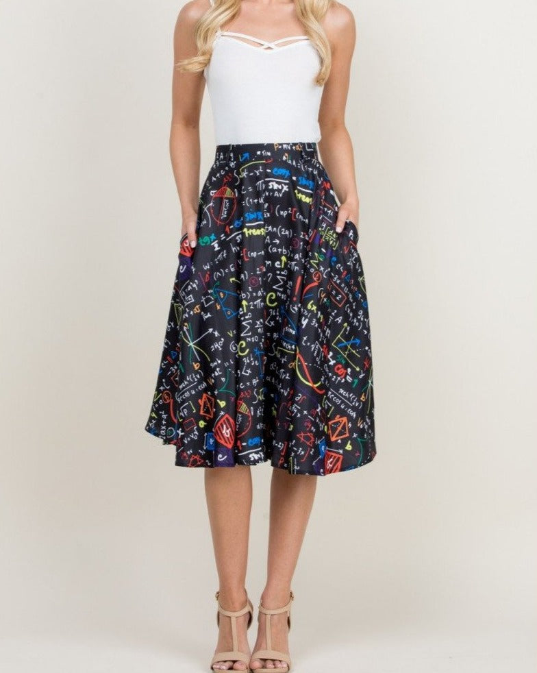 Brains And Beauty Skirt