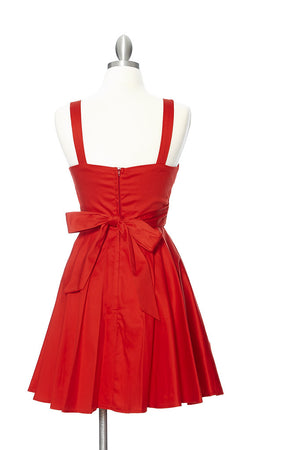 Marilyn Dress - Red