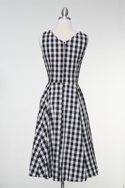 School Days Checkered Dress