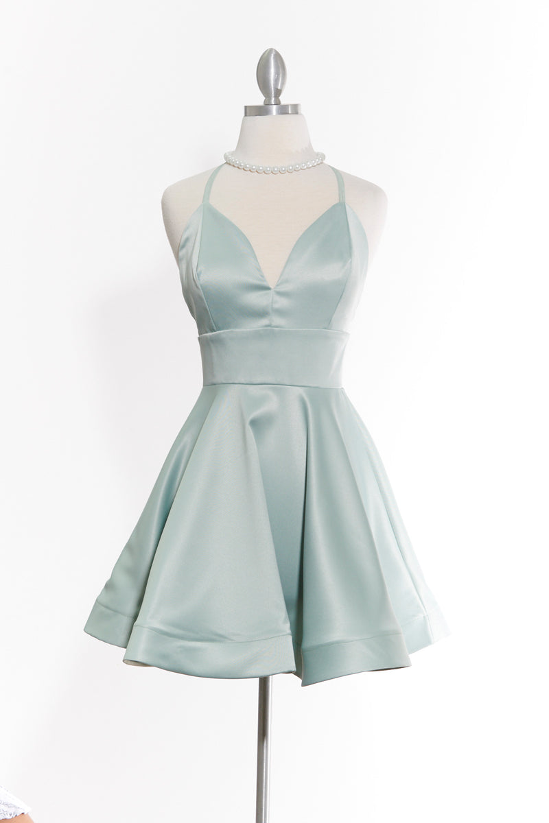 You Flutter Me Mint Dress