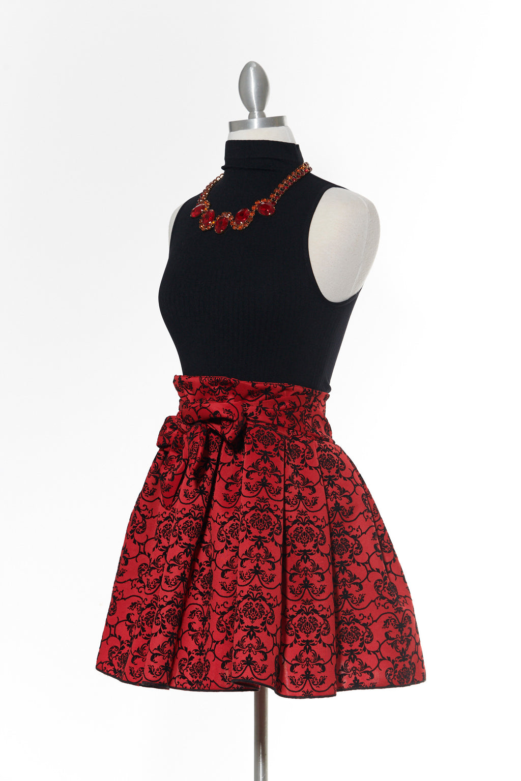 Dreamy Party Skirt- Red