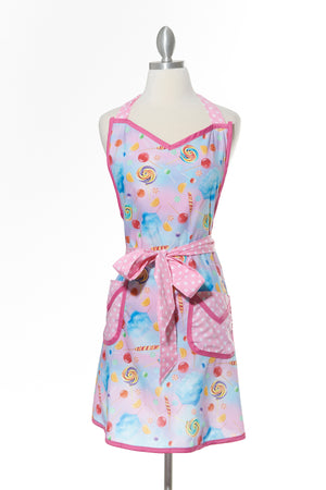 Sugar Plum Candy Apron