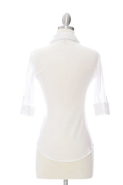 Working Girl Top - White