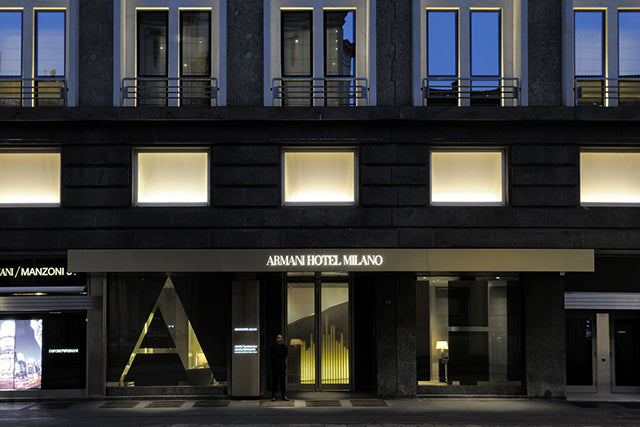 Ambassadors will attend the Armani Hotel Fashion Party