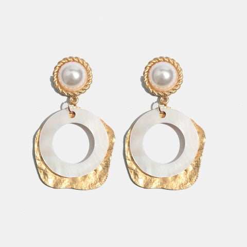 Kate Shell Earrings