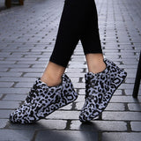 Leopard Pattern Casual Sneakers
